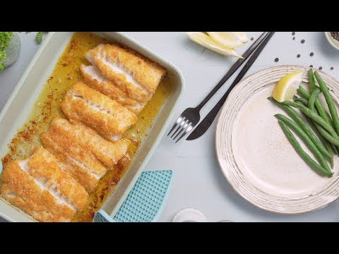 Parmesan Crusted Baked Fish Fillet Recipe | The Spruce Eats