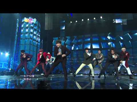 29/12/12 Super Junior - Sexy, Free & Single Live