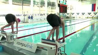 «Веселый Дельфин» 2018, дистанция 100 м брассом, второй заплыв