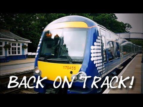 Braemar to Pitlochry via Blair Atholl - Part 4 (Back on track)