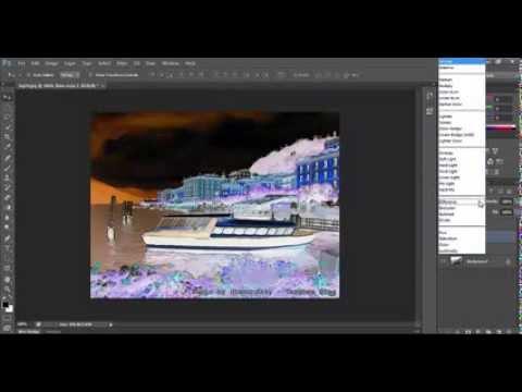 การเปลี่ยนภาพถ่ายเป็นภาพวาดสีน้ำ ด้วยPhotoshop cs6
