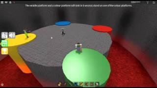 ROBLOX / Epic Minigames / Minigames / Four Corners