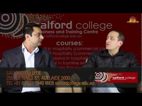 A TALK WITH VISHAL CHAUDHARY - SALFORD COLLEGE ADELAIDE