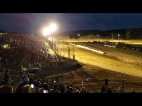 Muskingum County Speedway Modified Heat Race #2 on 6-22-17