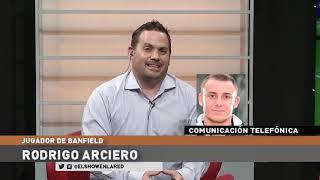 Rodrigo Arciero jugador de Banfield en El Show En La Red