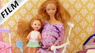BARBIE IST SCHWANGER Film deutsch | Schwangere Puppe mit Baby im Bauch | Happy Family Midge & Baby