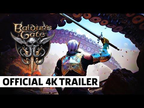 Baldur's Gate 3 - Official 4K Early Access Release Announcement Trailer