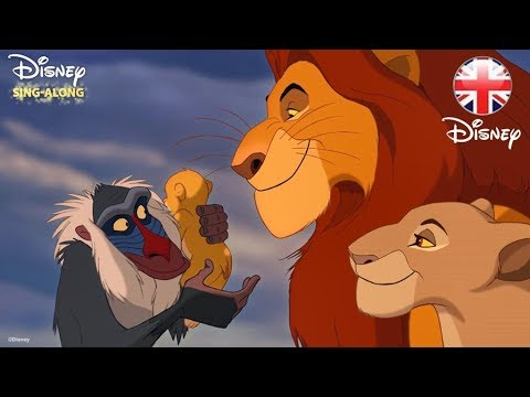 Disney Sing Alongs Circle Of Life The Lion King Lyric Video Official Disney Uk Youtube