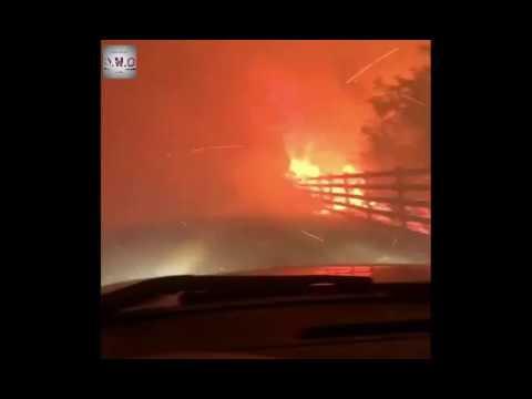 Santa Paula Fire hits the USA city California Latest - Trending News