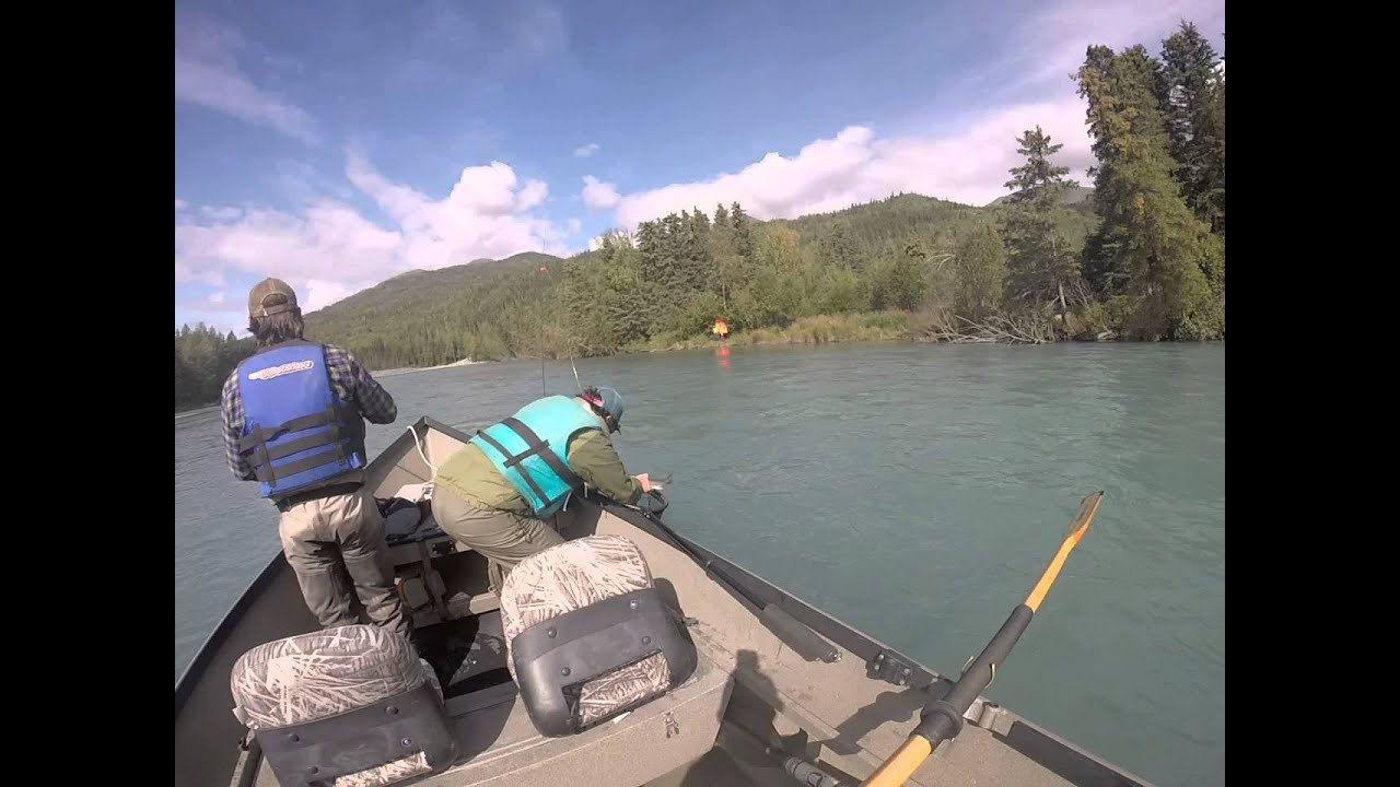 Fly fishing upper kenai river cooper landing alaska youtube for Cooper landing fishing