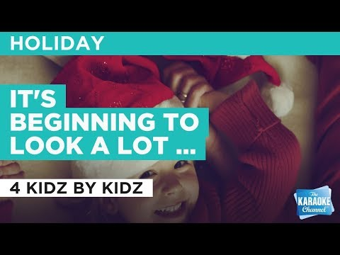 It's Beginning To Look A Lot Like Christmas in the style of Traditional | Karaoke with Lyrics