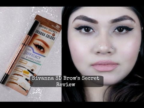 Sivanna 3D Eyebrow's Secret Review - Eyebrow Tutorial