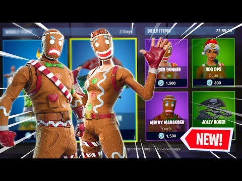 """The """"GINGERBREAD"""" Skins Are RETURNING?!   Pro Console Player (Fortnite Battle Royale) thumbnail"""