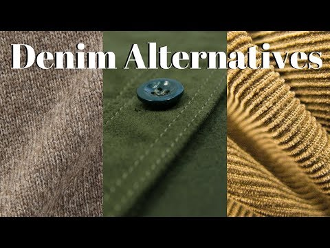 Three Denim Alternatives