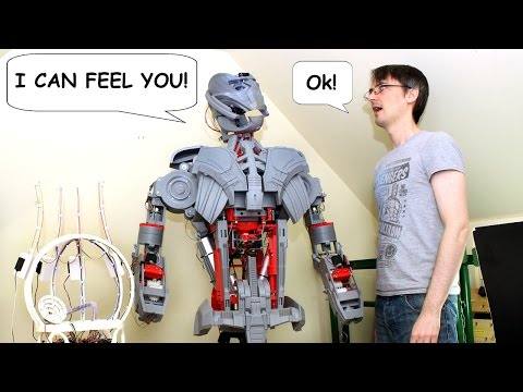 XRobots - Avengers Ultron Part 28, A REAL ROBOT - Tracking Emotions