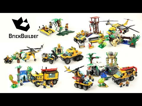 Lego City 2017 - All Jungle Sets Compilation - Lego Speed ...