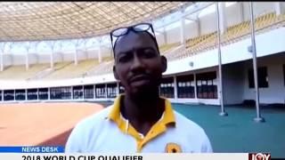 2018 World Cup Qualifier - Sports Desk on Joy News (6-10-16)