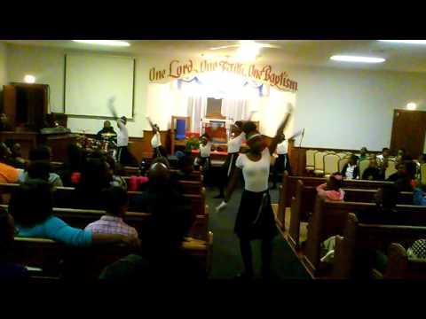 Junior Praise Dancers..El-Shaddai Missionary Baptist Church.