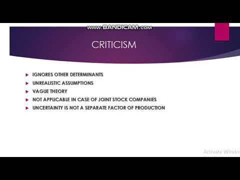 THEORIES OF PROFIT PART 2 MICRO ECONOMICS