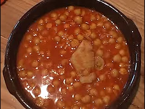 c mo cocinar garbanzos con bacalao youtube