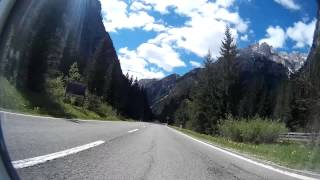 Dolomitenstraße SS51 Toblach  Drei Zinnen Teil 1 HD