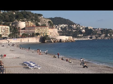 Nice, France, along the Côte d'Azur - the complete movie