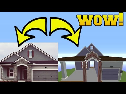 Thumbnail: REAL LIFE HOUSE IN MINECRAFT!!!!!!