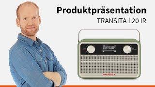 Gambar cover Transita 120 IR | Portables DAB+/UKW Digitalradio im Retrolook mit Internet. | Nordmende