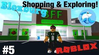 Roblox Bloxburg | Shopping & Exploring! #5