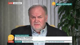 Thomas Markle Says He Has Been 'Ghosted' By Meghan And Begs For Contact