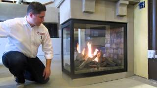 Napoleon Hd4 See Thru Peninsula Direct Vent Gas Fireplace Product Review