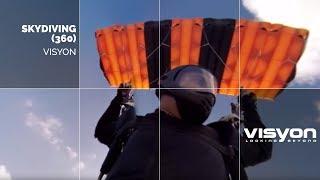 Skydiving 360 video  in Florida by VISYON