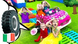 Ci piace giocare Canzoni per bambini Cinque Bambini