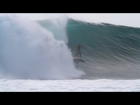 Paulo Moura at Desert Point, Indonesia, July 19th, 2016
