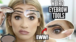 Weird BROW HACK TOOLS Tested | Do They REALLY Work?!