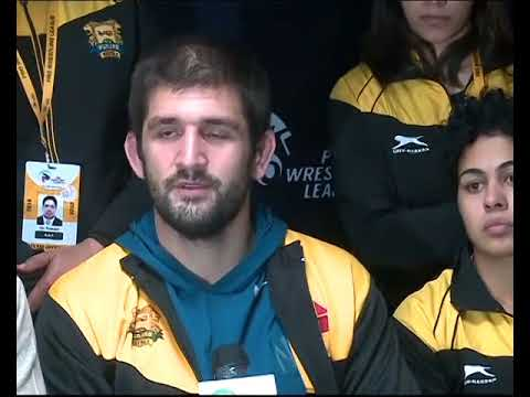 PWL 3 Day 10: Punjab Royal's Wrestlers briefing the media after victory against Delhi Sultans