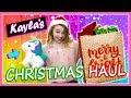KAYLA'S CHRISTMAS HAUL AND REVIEW | Kayla Davis