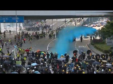 Бушующий Гонконг: протесты