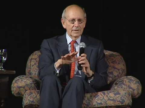 US Supreme Court Justice Stephen Breyer: A Presentation on International Law