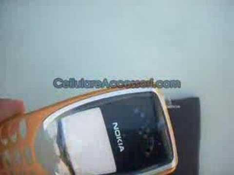 Cover Nokia 8210 Orange Cover ORIGINALE