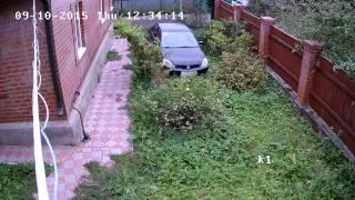 Установка камер наблюдения на даче пример 1(, 2015-09-14T18:35:27.000Z)