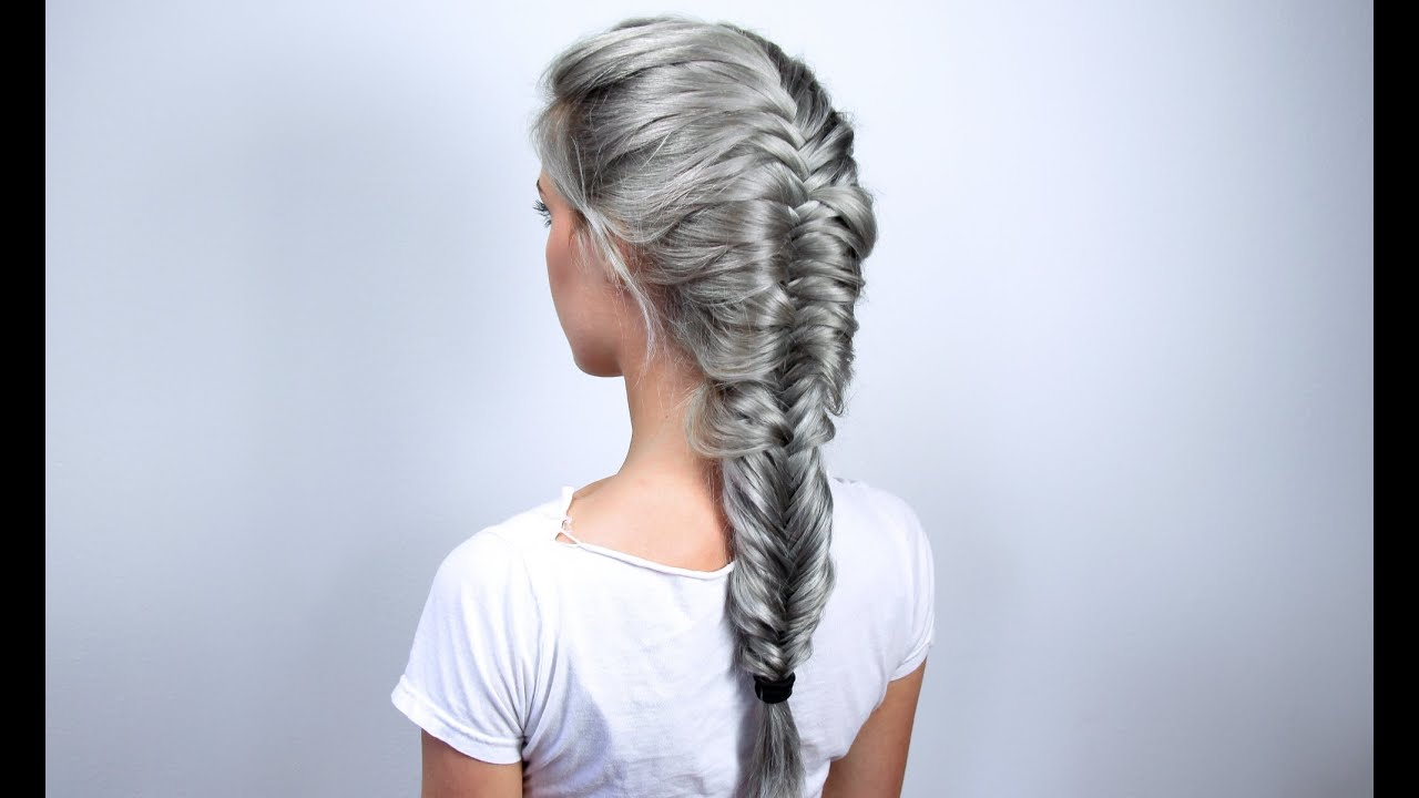 How to make a french fishtail braid youtube ccuart Choice Image