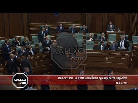 Momenti kur Isa Mustafa u Sulmua nga Deputetët e Opozitës