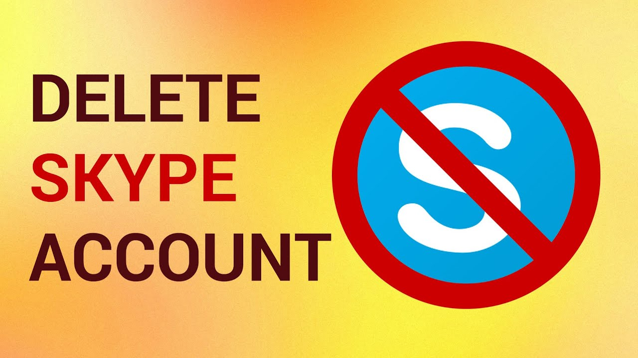 How to delete skype account permanently youtube how to delete skype account permanently ccuart Images