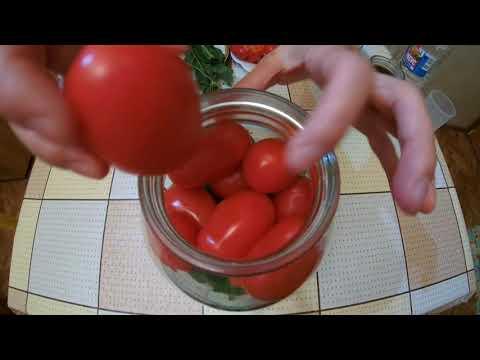 КАК ЗАКОНСЕРВИРОВАТЬ ПОМИДОРЫ помидоры без стерилизации соленные помидоры  #консервированныепомидоры