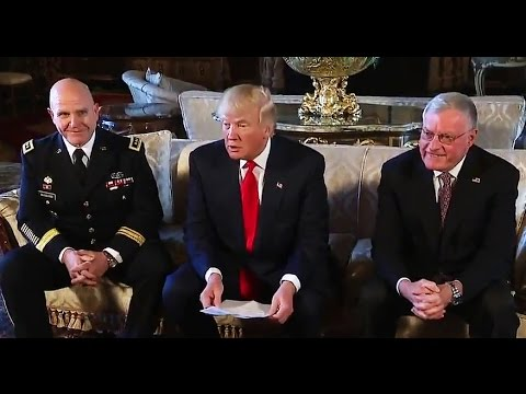 President Trump Announces Lt. Gen. H. R. McMaster as National Security Advisor, 2/20/17