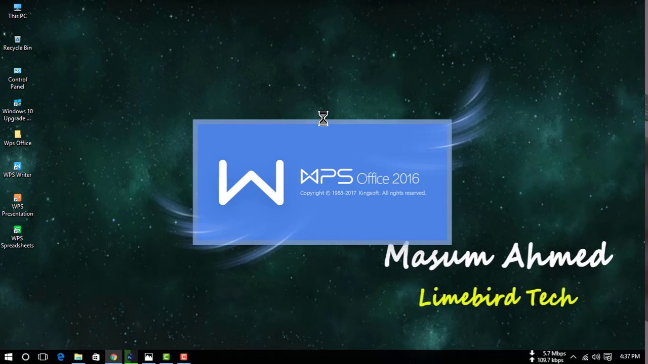 How to install Wps Office 2017 in windows 10