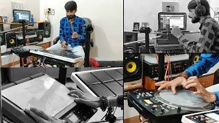 CLASSICAL BEATS ON WESTERN STYLE IN OCTAPAD |Make Your Latest Ringtone |BHAVIK GAJJAR