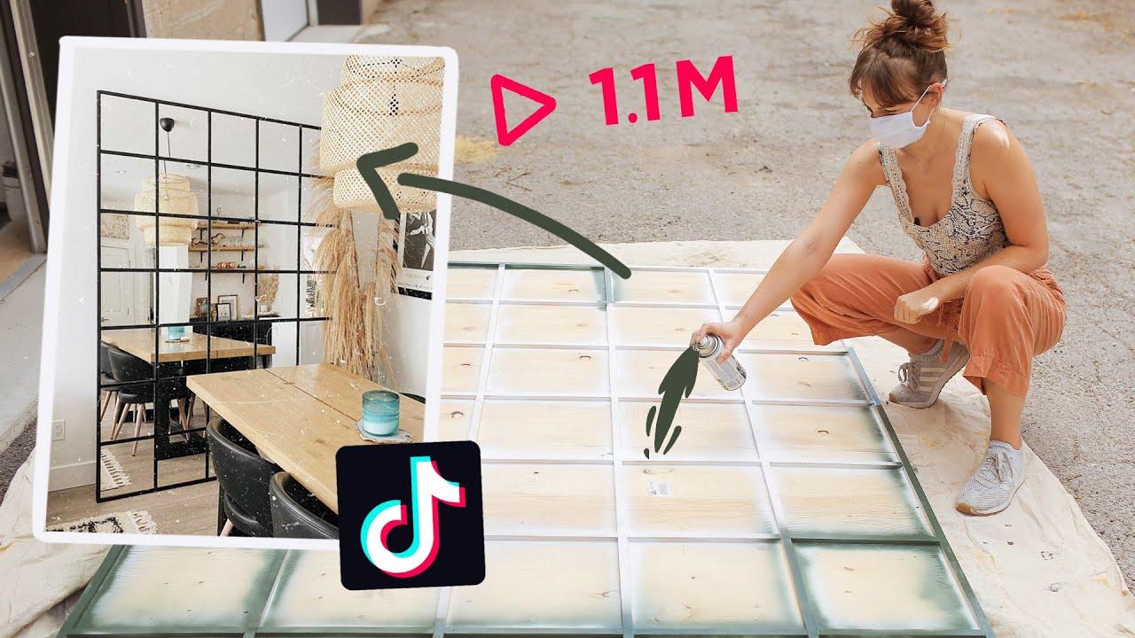 Making That Diy Mirror We All Saw On Tiktok Youtube