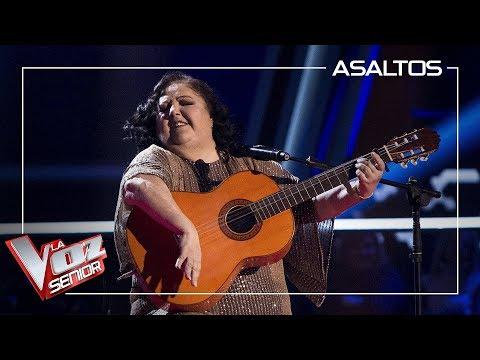 Rosario Moreno 'La Tata' canta 'Si a veces hablo de ti' | Asaltos | La Voz Senior Antena 3 2019